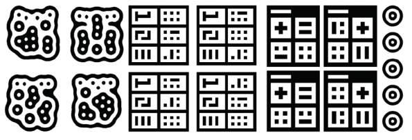 symboles utilis�s par reacTIVision