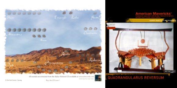 Medieval remix et Quandragularus Reversum de Harry Partch